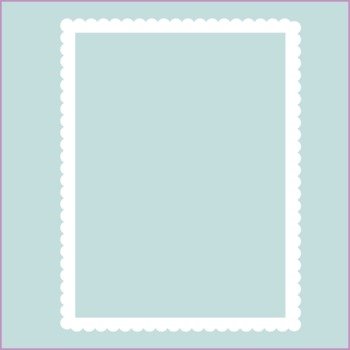 Frames / Borders - Contemporary Scallops