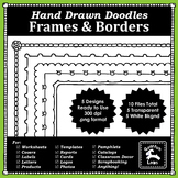 Frames & Borders - Hand Drawn Doodles - Free