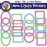 Neon Lights Borders