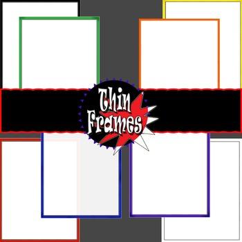Frames- Bright Thin Edges