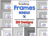 Frames Bundle (10 sets 120 Frames) Whimsy Workshop Teaching