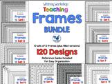 Frames Bundle (10 sets 120 Frames) Whimsy Workshop Teaching