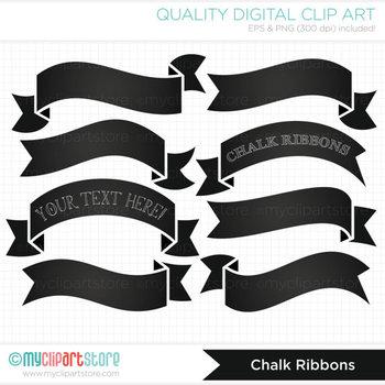 Frames - Ribbon Banners (Chalk)