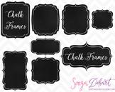 Clip Art: Frames - Chalkboard Frames/Labels