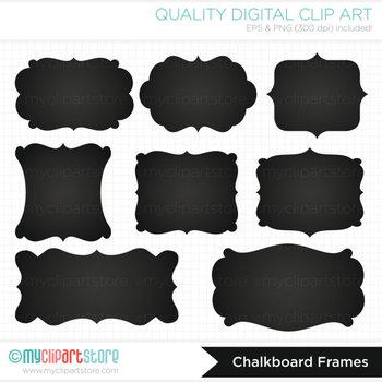 Frames - Chalkboard labels / Chalk Frames