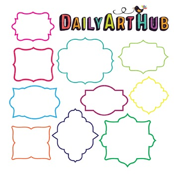 Frames Clip Art - Great for Art Class Projects!