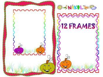 Fall - Pumpkins - Frames