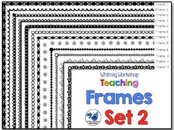 Frames Clip Art Set 2 - Whimsy Workshop Teaching