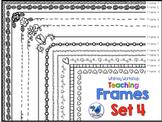 Frames Clip Art Set 4 - Whimsy Workshop Teaching