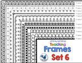 Frames Clip Art Set 6 - Whimsy Workshop Teaching