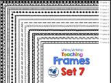 Frames Clip Art Set 7 - Whimsy Workshop Teaching