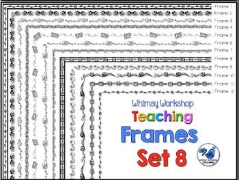 Frames Clip Art Set 8 - Whimsy Workshop Teaching