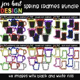 Frames Clip Art - Spring Frames Bundle {jen hart Clip Art}
