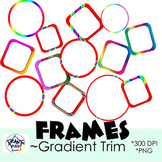 Frames! Clip Art for your Resources