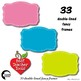 Frames Clipart, 33 Solid Color Fancy Frames {Best Teacher