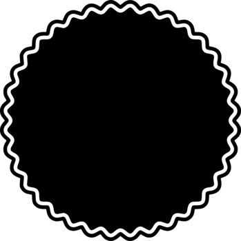 Frames Clipart - Black Collection - Commercial/Personal Use