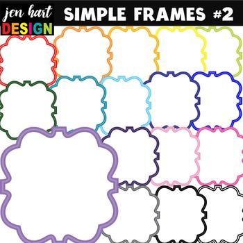 Frames Clipart (Simple Frames #2}