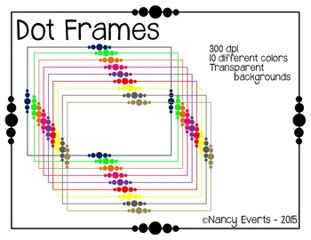 Frames - Colored Dots