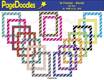 Frames, Dandy, for TPT Sellers - High Quality Vector Graphics