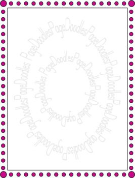 Frames, Dots, for TPT Sellers - High Quality Vector Graphics