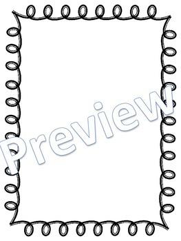 Frames - Fancy Curly Frames