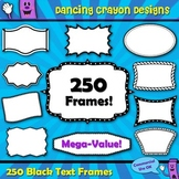 Borders and Frames Clip Art Bundle