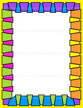 Groovy Frames and Borders Clip Art