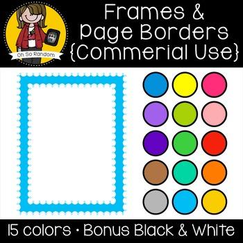 Frames I {Clip Art for CU}