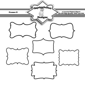 Frames II Clip Art