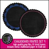 Frames: KG Chalkboard Frames Set Four