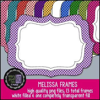 Frames: KG Melissa Frames
