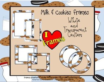 Borders {Commercial Use-Milk and Cookie)