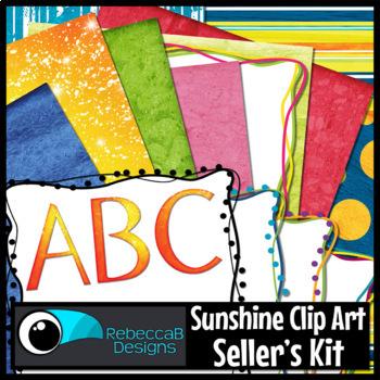 Sunshine Clip Art Kit