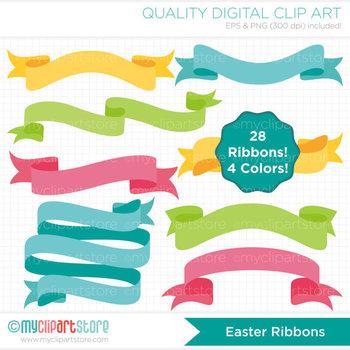 Frames - Ribbon Banners (Easter)