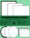 Frames- Scalloped Frames & Borders
