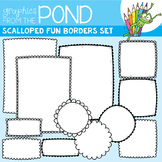 Frames - Scalloped Fun Borders Set
