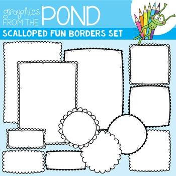 Frames - Scalloped Fun Borders Set