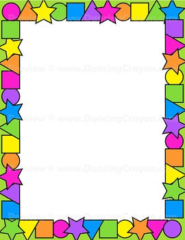 Shape Clip Art Frames and Borders