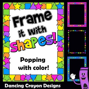 Shape Clip Art Frames and Borders
