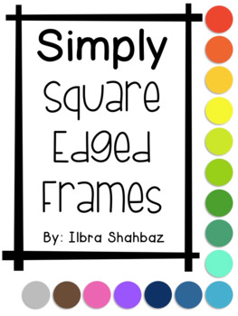 Frames: Simply Square Edged