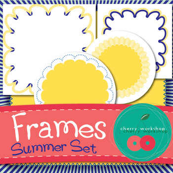 Frames - Summer Set - FREEBIE