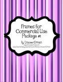 Frames Tags Borders for Commercial Use - Package 1