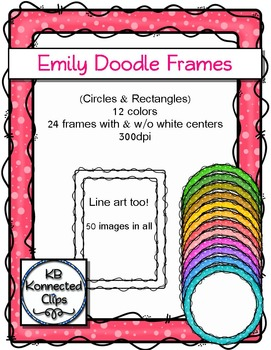 Frames - The Emily Collection (circles and rectangles)