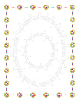 Frames, Twirl, for TPT Sellers - High Quality Vector Graphics