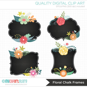 Frames - Vintage / Chalkboard / Floral Frames