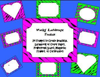 Frames: Wacky Landscape Frames