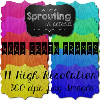 Frames - Wood Grain {Texture}