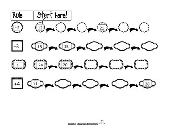 Frames and Arrows:  Jumping to Add and Subtract