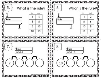 Frames-and-Arrows and Function Machines SCOOT - 1st & 2nd Addition/Subtraction