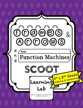 Frames-and-Arrows and Function Machines SCOOT - 1st & 2nd